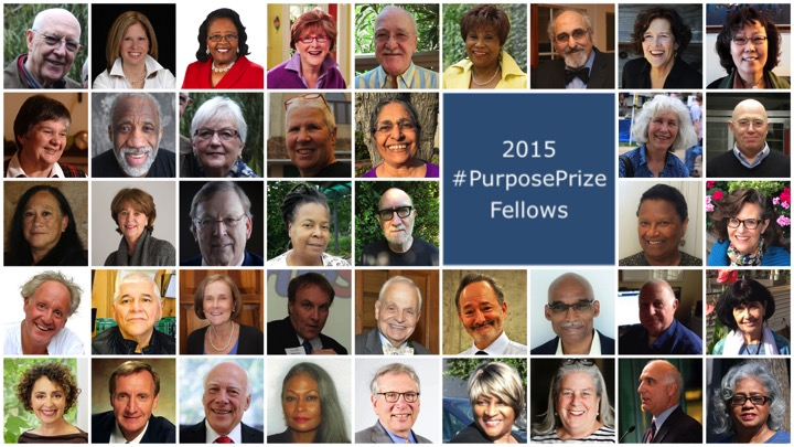 Kathleen Chromicz included in the 2015 Purpose Prize Fellows Collage